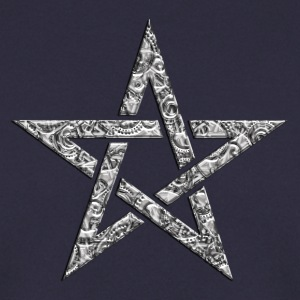 Star of the Magi - Pentagram - Sign of intellectual omnipotence and autocracy. digital, Blazing Star, powerful symbol of protection Bluzy - Bluza męska