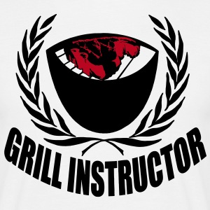 grill instructor T-Shirts - Männer T-Shirt