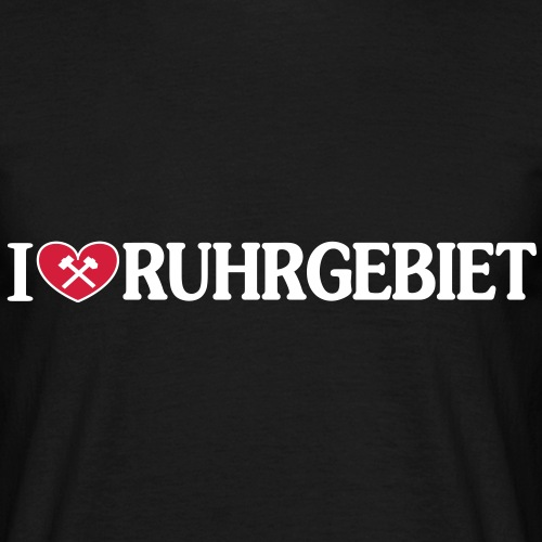 I love Ruhrgebiet mit Schlägel und Eisen - Horizontal