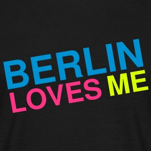 Berlin loves me T-skjorter - T-skjorte for menn