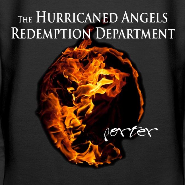 PORTER Wolkenstein Hurricaned Angels Girlie-Kapuzenpulli