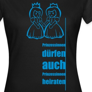 Prinzessinnen T-Shirts - Frauen T-Shirt