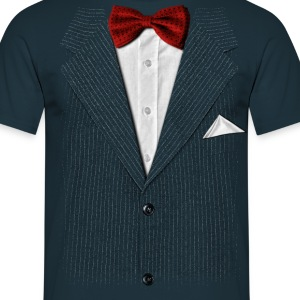 bow tie - Men's T-Shirt
