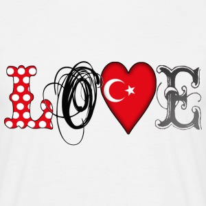Love Turkey Black T-Shirts - Männer T-Shirt