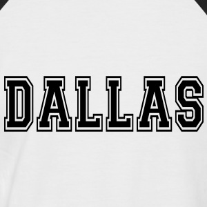 Dallas T-Shirts - Männer Baseball-T-Shirt