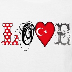 Love Turkey Black Shirts - Kids' Organic T-shirt