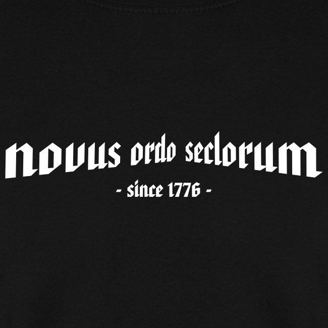 """Pullover """"novus ordo seclorum"""""""