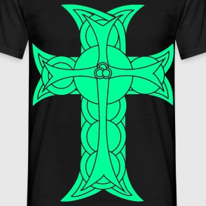 Celtic cross T-Shirts - Men's T-Shirt