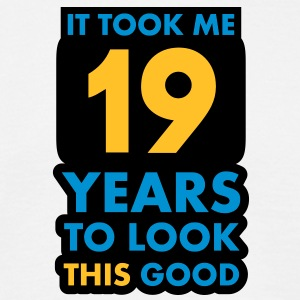 19_years T-shirts - Mannen T-shirt