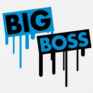 big_boss_graffiti T-shirts - T-shirt herr