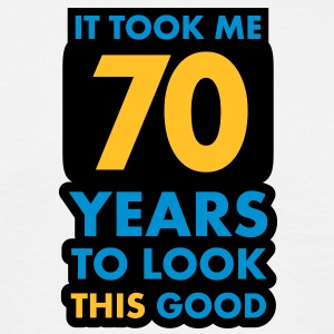 70_years T-shirts - Herre-T-shirt