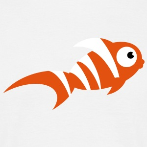 cute_fish T-Shirts - Men's T-Shirt