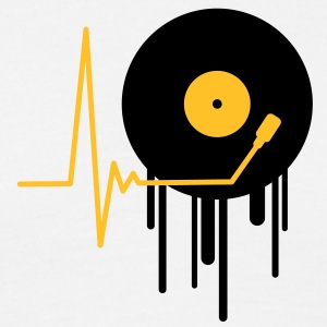 music_pulse_graffiti_stamp T-shirts - T-shirt herr