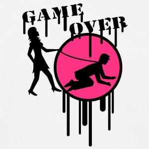 game_over_graffiti_stamp T-Shirts - Männer T-Shirt