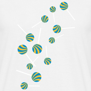 lollipop_rain T-shirts - Mannen T-shirt