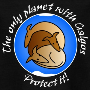 The only planet with Galgos T-Shirts - Teenager T-Shirt
