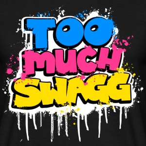 TOO MUCH SWAGG graffiti Tee shirts - T-shirt Homme