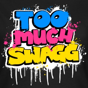 TOO MUCH SWAGG graffiti Tee shirts - T-shirt Femme
