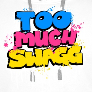TOO MUCH SWAGG graffiti Hoodies & Sweatshirts - Men's Premium Hoodie