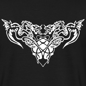 white dragons Tee shirts - T-shirt Homme