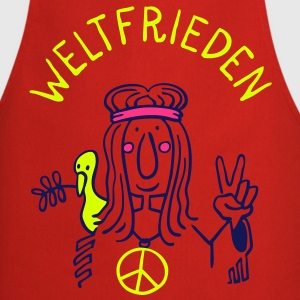Weltfrieden  Aprons - Cooking Apron
