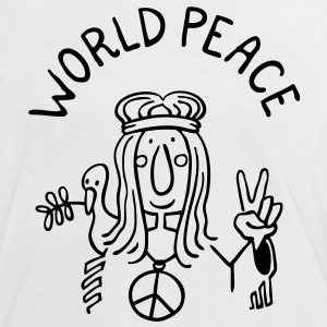 World Peace T-Shirts - Women's Ringer T-Shirt
