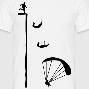 base jumping T-Shirts - Männer T-Shirt