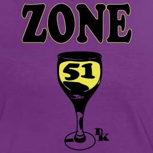 zone 51 vect by dk Tee shirts - T-shirt contraste Femme