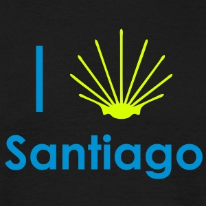 I Love Santiago T-Shirts - Men's T-Shirt