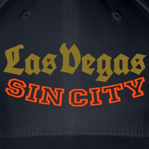 LAS VEGAS SIN CITY Caps & Hats - Flexfit Baseball Cap