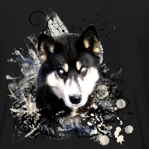 chien_husky - T-shirt Homme