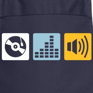 Music - DJ  Aprons - Cooking Apron
