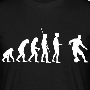 Evolution Soccer bzw. Fußball Shirt - Men's T-Shirt