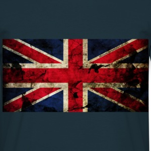 union_jack_grunge_flag_ukstore T-Shirts - Men's T-Shirt