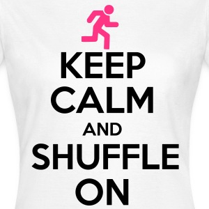 Keep Calm And Shuffle On T-shirts - T-shirt dam