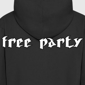 free_party1 Sweat-shirts - Veste à capuche Premium Homme