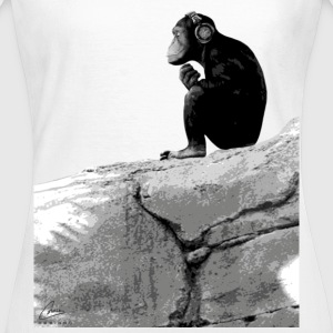 Music Monkey - Women's T-Shirt