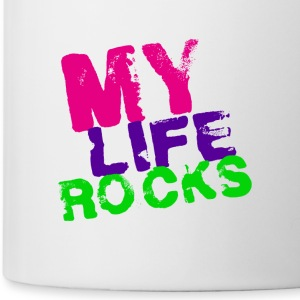 My Life Rocks!!! - Tasse
