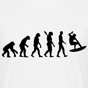 Evolution Surfen T-Shirts - Männer T-Shirt