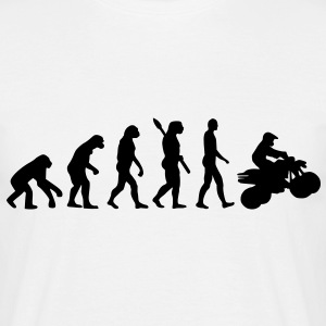 Evolution Quad T-Shirts - Männer T-Shirt