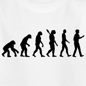 Evolution Handy Smartphone Kinder T-Shirts - Kinder T-Shirt