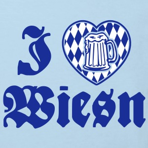 I love Wiesn T-shirts - Organic børne shirt