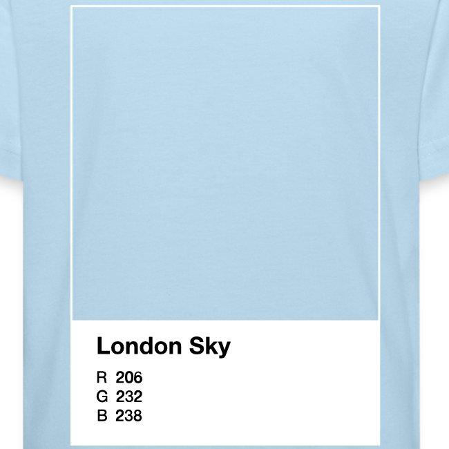London Sky, light blue, kid