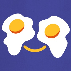 FRIED egg face sunny side up eggs for eyes  Aprons - Cooking Apron