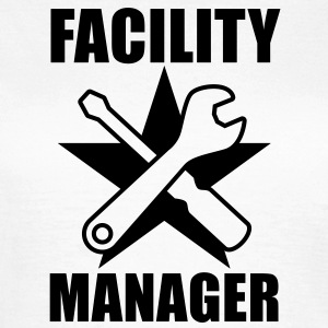 Facility Manager | Hausmeister | Star | Stern T-Shirts - T-shirt dam