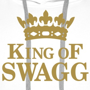 King of SWAGG Hoodies & Sweatshirts - Men's Premium Hoodie