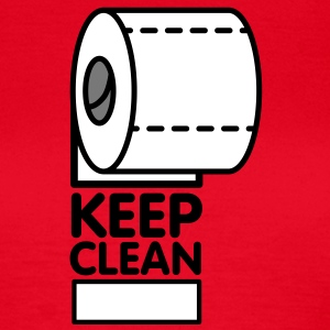 Keep Clean Role T-Shirts - Dame-T-shirt
