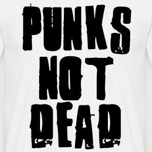 Punks Not Dead T-Shirts - Men's T-Shirt
