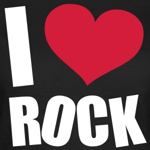 I Love Rock T-Shirts - Frauen T-Shirt