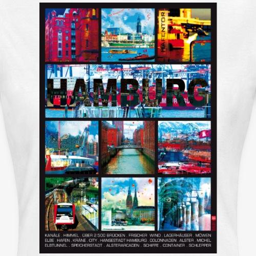 Hamburg Collage 01 Hansestadt Andenken Margarita